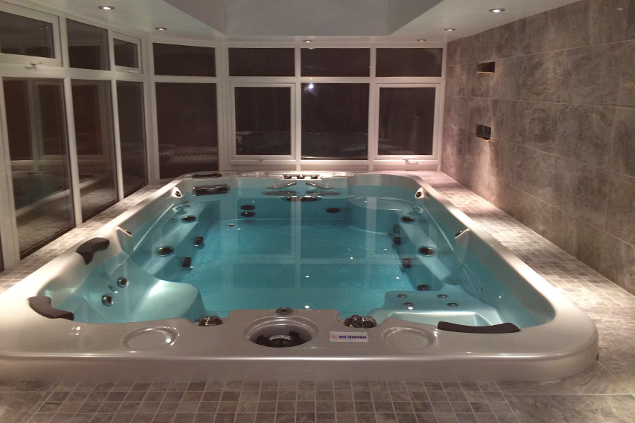 Spa De Nage Intrieur. Perfect Afs Pro Swim Spa Lifestyle With Spa De ...